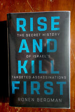 Ronen Bergman Rise and Kill First as new first printing