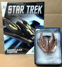 Star Trek Eaglemoss Nausicaan Fighter Starship & magazine #30