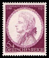 EBS Germany 1941 - W. A. Mozart 150th Death Anniversary - Michel 810 MNH**