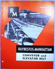 RAYBESTOS MANHATTAN  Conveyor Belt  ASBESTOS 1967