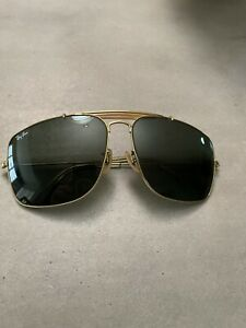 Vintage 1970's Rayban Police Sunglasses. Great Condition.