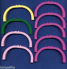 Lego--6184--Bogen--Rund--1 x 12 x 5--versch. Farben--9 Stück--Belville--Konvolut