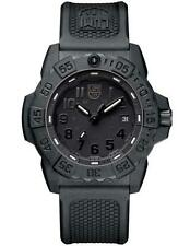 Luminox 3501.BO Navy Seal Trident Black Dial Rubber Strap 45mm Case Watch