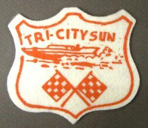 1965 TRI-CITY SUN hydroplane boat RACING shirt jacket patch tr1