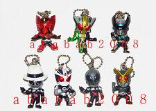 Bandai Masked Rider Kamen keychain figure gashapon - Agito Tajadol Combo (7 Pcs)