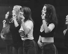 OLD PHOTO British Television Dance Troop Pans People Rehearsing