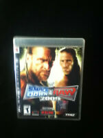 WWE SMACKDOWN VS RAW 2009 wrestling game complete w/ manual - Playstation 3 PS3