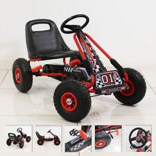 Kiddo Racer Design Kids Children Pedal Go-Kart Ride-On Car Adjustable Seat 4-8 Y