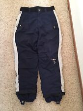 Vintage Sessions Jamie Lynn Men's Snowboarding Pants Navy & Gray Size M - $299