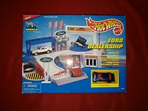 Hot Wheels Ford Dealership IN ORIGINAL BOX