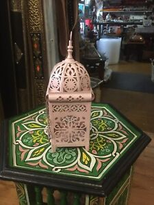 Hand Made Moroccan Candle Holder