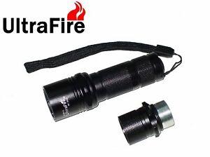 New UltraFire WF-503A Cree XP-L V6 1000 Lumens LED Flashlight Torch