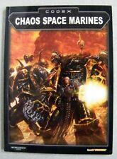 VINTAGE 2002 CODEX CHAOS SPACE MARINES WARHAMMER 40000 RULE BOOK Games Workshop