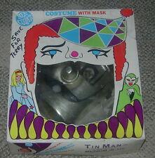 BEN COOPER  TIN MAN  COSTUME  WIZARD OF OZ  1968  CARTOON  BOXED  HALLOWEEN