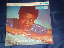 ELLA FITZGERALD SINGS THE RODGERS AND HART SONG BOOK - 1960 HMV LABEL EP - EXC.