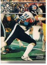 1979 Toronto Argonauts Program