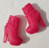 BARBIE DOLL SHOES YOU CAN BE ANYTHING 2018 GUITAR MUSICIAN PINK BOOTIES HEELS