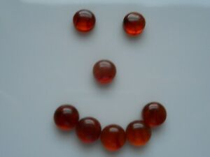 6mm Amber cabochons £1.50p each piece.