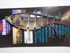 Morone Swimbait Gizzard Shad Threadfin Jointed Swimbaits  striper  bass Lure