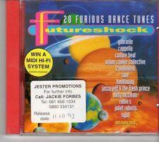 (EU599) Futureshock - 20 Furious Dance Tunes - 1993 CD