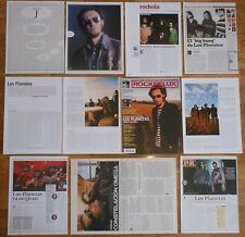 LOS PLANETAS coleccion de prensa revistas revista fotos indie español clippings