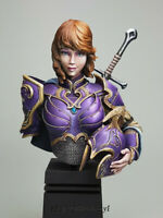 1/12 Elf Sci-fic Resin Bust Model Kits Unpainted GK Unassembled