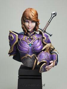 1/12 Elf Sci-fic Resin Bust Model Kits Unpainted GK Unassembled