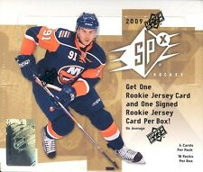 2009-10 UD SPx Hockey - Finish your Set! - Pick any 4 cards for .99 cents!