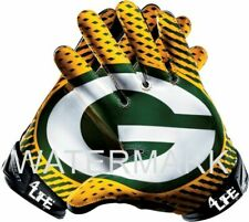 "Green Bay Packers 4life 6"" Car Truck Window or Wall Glossy Gloves Sticker Decals"