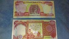 Iraq Dinar 25000 Uncirculated Mint Crisp Condition