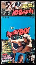 1981 Fleer Here's Bo! - Bo Derek [From Tarzan the Ape Man]- Empty Display Box
