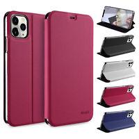 """Flip Case iPhone 11 Pro 5.8"""" Etui Magnet Cover Aufstellbar Ständer Hülle Folie"""