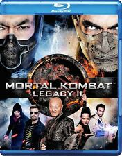 Mortal Kombat Legacy II 2 Blu-ray Reg B