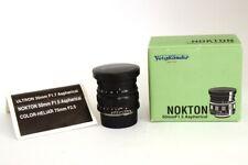 Voigtlander Nokton 50mm F1.5 Aspherical No Noctilux Leica M Mount Scatolato