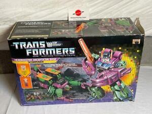 1987 Scorponok MIB Complete G1 Transformers