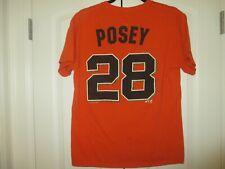 San Francisco Giants MLB  Posey # 28 - Boy's/ Youth Shirt -Size Small/ Med.- Fun