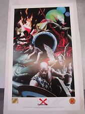 Marvel Limited ~ Signed & Numbered Earth X Poster ~ Alex Ross & JP Leon 1999 DF
