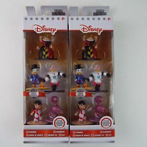Disney Jada Nano Metalfigs Collector Figure Die Cast Lot Of 2 Scrooge Gizmoduck