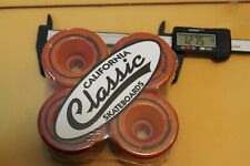 Rollerball Cruiser Dogtown Soft 64mm 1980's W1 Vintage Set 4 Skateboard Wheels