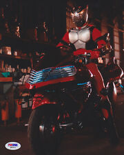 Stephen Lunsford SIGNED 8x10 Photo Kit Taylor Kamen Rider: Dragon Knight PSA/DNA