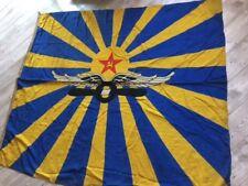 Rare !!!! USSR Air Force Flag Navy Fleet Original Wool Soviet