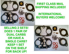 X2 EMPI 2364 DELLORTO 36-40 DRLA CARBURETOR REBUILD KIT VW DUNE BUGGY BUG ENGINE