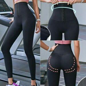 Women Sauna Sweat Hot Fitness Pants Leggings High Waist Thermo Workout Gym Pants