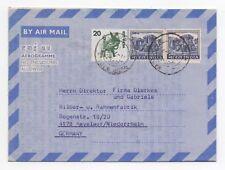 1979 INDIA Aerogramme Cover WADALA To KEVELAER GERMANY
