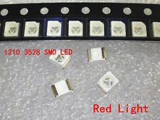 100pcs 3528 Red Ultra Bright Light Diode 1210 SMD LED
