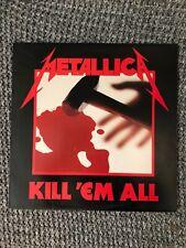 Metallica Lp Kill 'em All 1983 Original Elektra V G