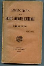 Mémoires de la Société nationale  académique de Cherbourg, vol.17 ,1904