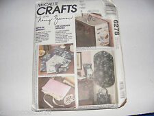 McCalls  #6278 Gifts in Minutes-Hand Made Crafts,Gifts Pattern UNCUT