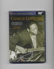CHARLIE CHRISTIAN - JAZZ GUITAR LESSON  LICKS - DVD NEW