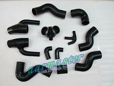 Audi S4 RS4 2.7 Bi-turbo silicone turbo hose kit 12pcs black